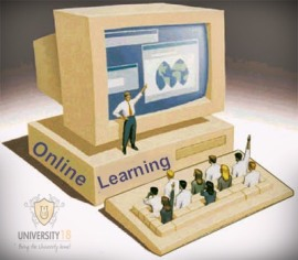 online learning programs University18