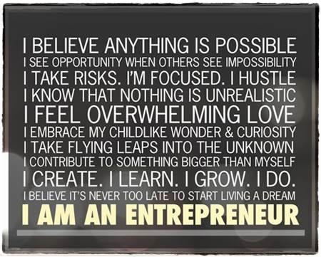 MBA in Entrepreneurship for Entrepreneur