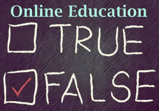 online education myths and truth